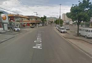 Caso aconteceu na Avenida Dom Hélder Câmara, no Cachambi Foto: Google Maps / Reprodução