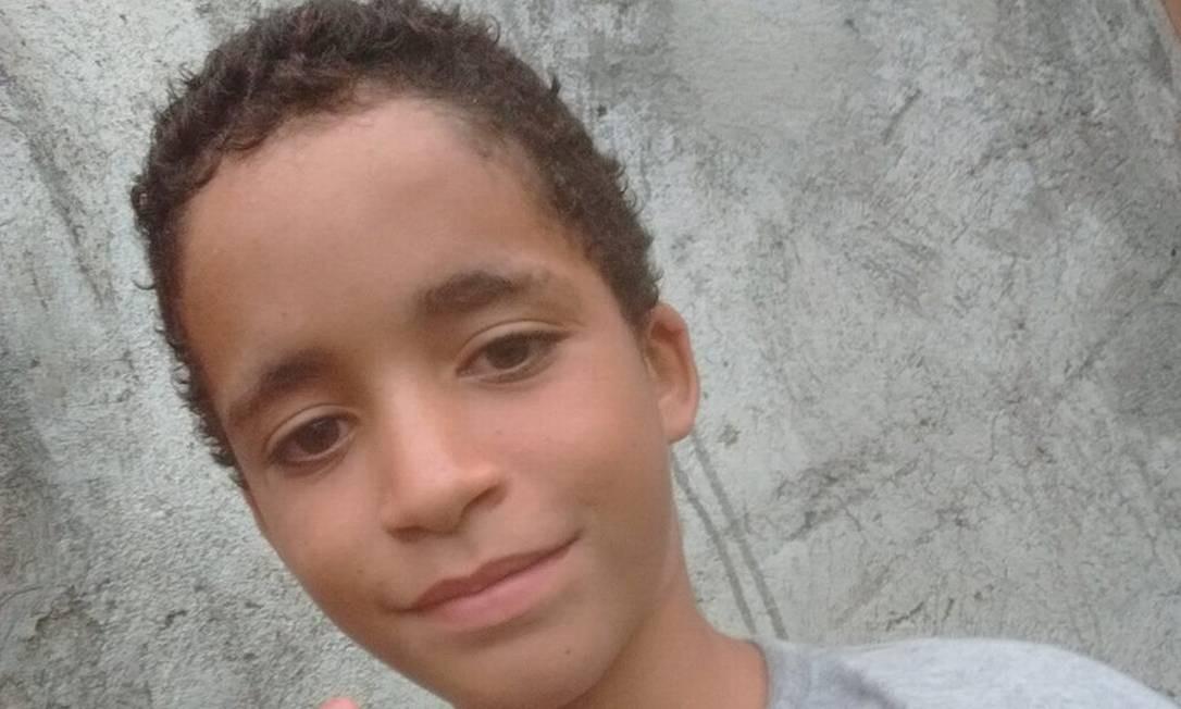 Em 16 de março, Kauan Peixoto, de 12 anos, morreu após ser baleado durante uma operação na favela da Chatuba, em Mesquita. O adolescente saíra de casa para comprar um lanche. Kauan foi levado ao Hospital Geral de Nova Iguaçu, mas não resistiu Foto: Facebook / Reprodução