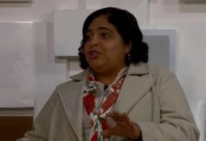A educadora Iolene Lima em entrevista ao programa 'Feliz Cidade' Foto: Reprodução/ Youtube