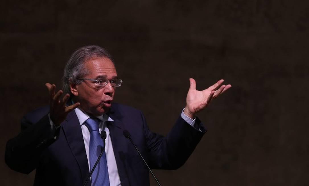 Paulo Guedes, ministro da Economia do Brasil Foto: Ricardo Moraes / Reuters