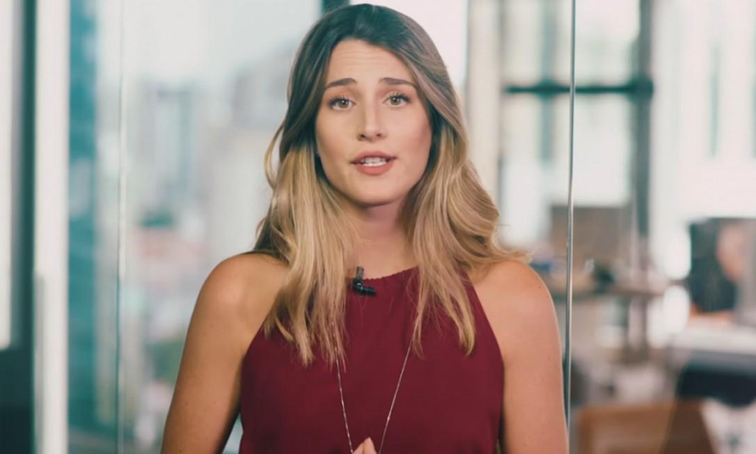 Bettina diz que tem apenas 22 anos e que conseguiu, em três anos, transformar R$ 1.520,00 em mais de R$ 1 milhão Foto: Reprodução / YouTube