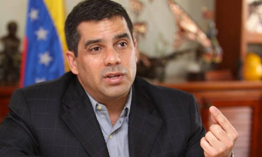 Carlos Rotondaro foi ministro da Saúde do governo chavista Foto: Reprodução El Nacional