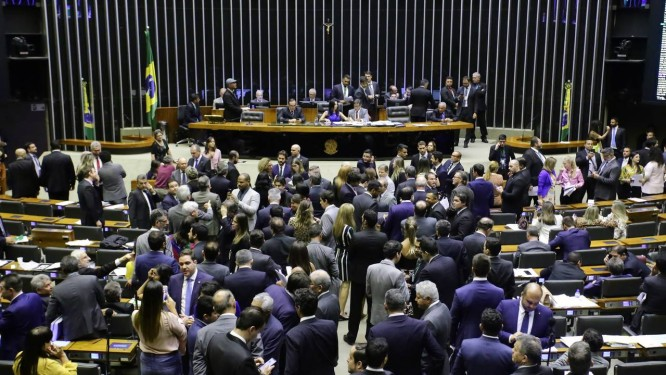 Mais do que recado, votação foi imposição Foto: Agência O Globo