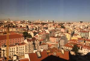 Lisboa. Brasil é o segundo país com mais pedidos de Golden Visa em Portugal Foto: Bruno Rosa