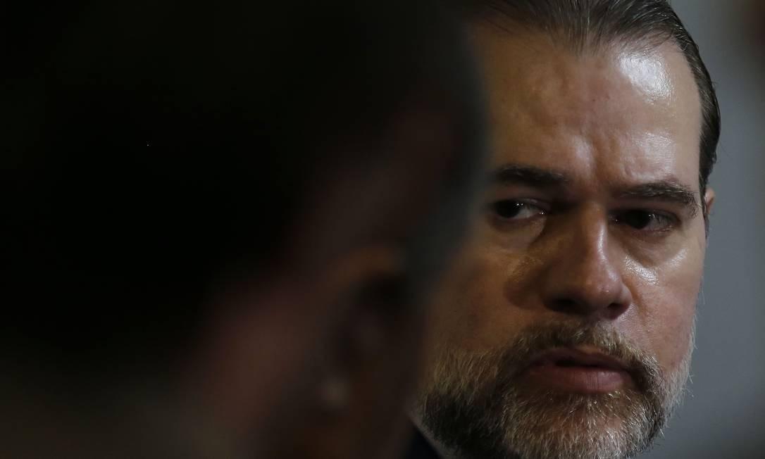 Supremo prepara reação dura ao autor da ameaça Foto: Jorge William / Agência O Globo