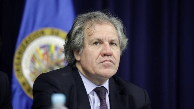 Luis Almagro, secretário-geral da OEA, é também um crítico ferreno de Nicolás Maduro Foto: Presidência de El Salvador