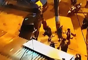 Três são baleados em bar de Belford Roxo Foto: Reprodução redes sociais