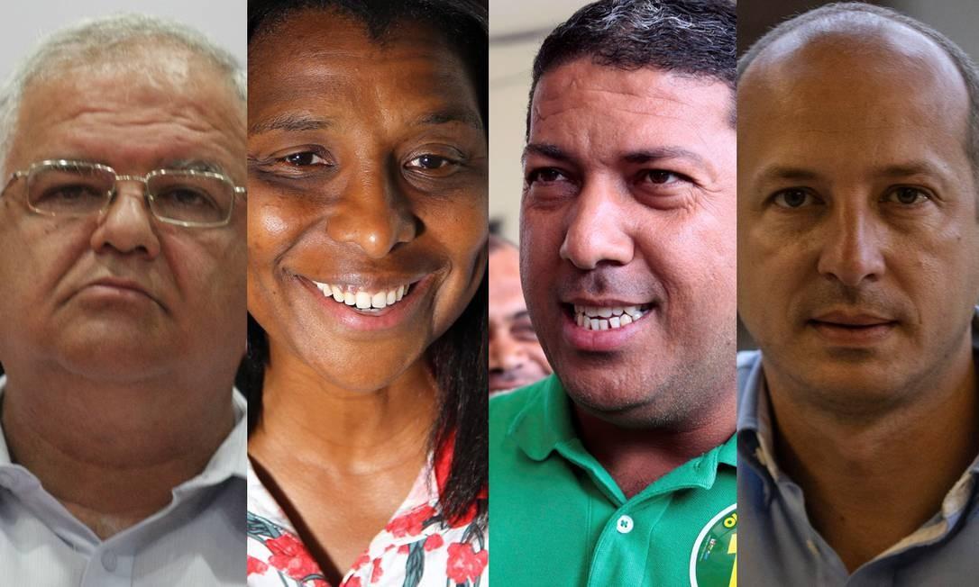 Walney Rocha, Rosângela Gomes, Dejorge Patrício e Marcelo Delaroli Foto: Agência O Globo