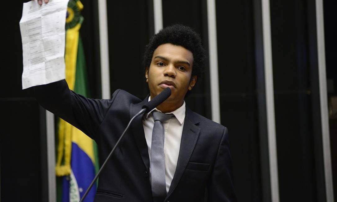 Holiday disse não mudar sua visão sobre Marielle, após saber que também entrou no radar do suspeito de matá-la Foto: Arquivo / Agência O Globo