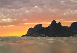 Paisagem clicada por fotógrafo surfista Foto: Fabio Minduim