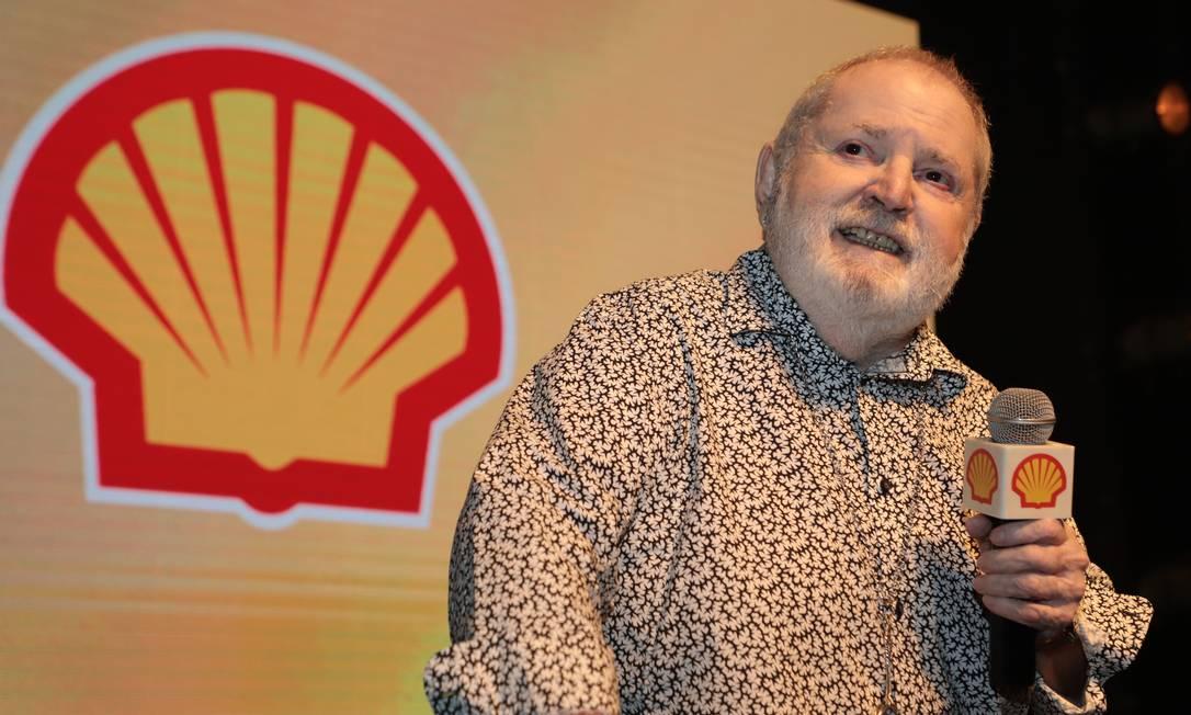 Jô Soares no Prêmio Shell Foto: Divulgação