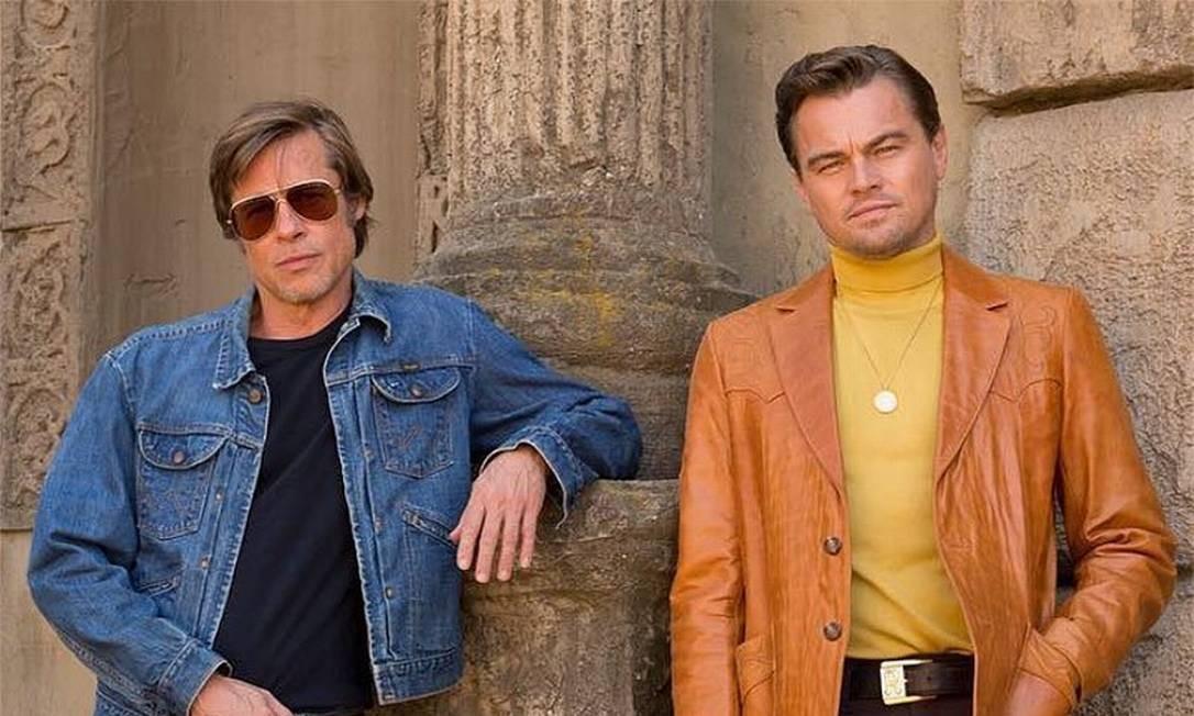 Era Uma Vez em Hollywood: estrelado por Brad Pitt e Leonardo DiCaprio Foto: Divulgação