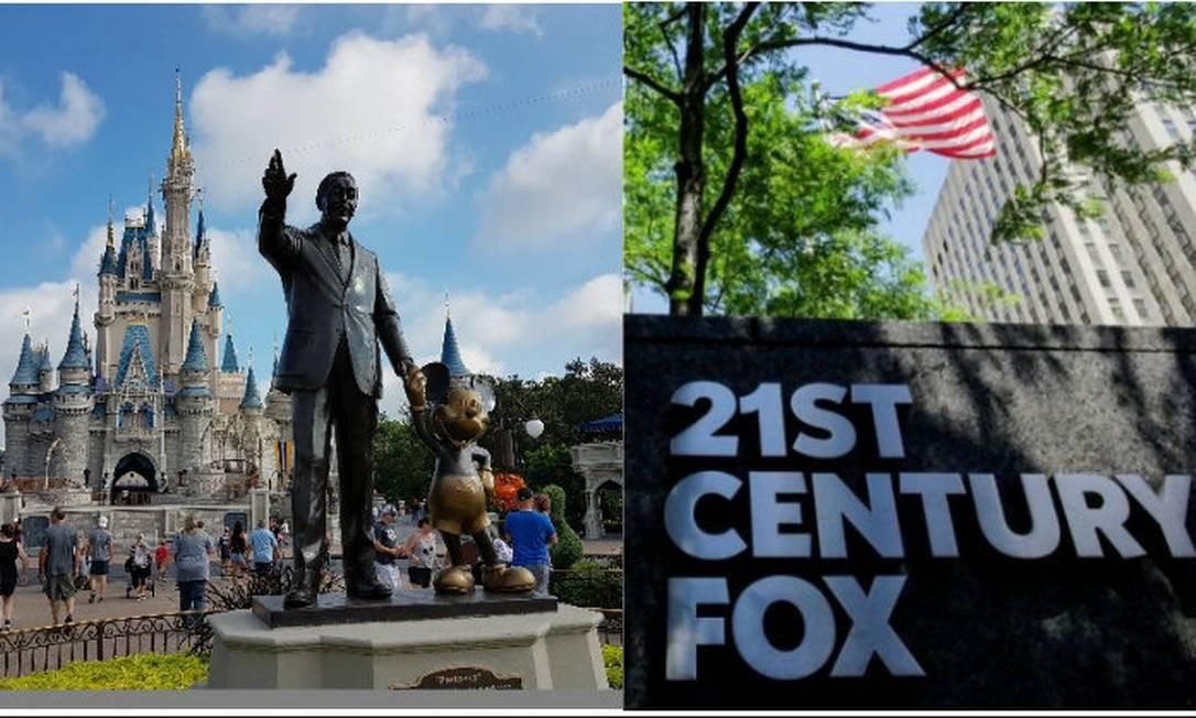 Estúdios da 20th Century Fox em Los Angeles: eles passarão a ser da Disne Foto: Arquivo