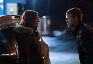 Julia Roberts e Lucas Hedges protagnizam o filme 'O retorno de Ben' Foto: Divulgação/Mark Schafer