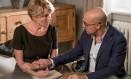 Emma Thompson e Stanley Tucci estrelam 'Um ato de esperança' Foto: Divulgação