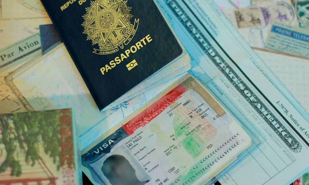 Visto de turismo para entrar nos EUA Foto: Reprodução
