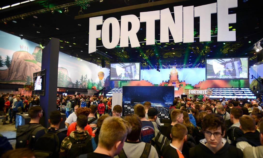 """Torneio de """"Fortnite"""": bolsas para programadores. Foto: BARTOSZ SIEDLIK / AFP"""
