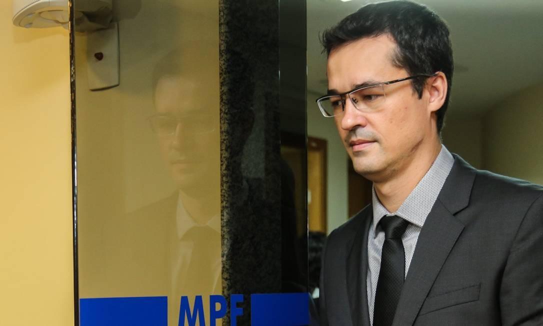 Deltan Dallagnol, procurador que comanda a força-tarefa da Lava-Jato Foto: Geraldo Bubniak / Agência O Globo