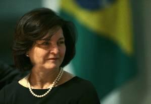 Mandado de Raquel Dodge frente à Procuradoria termina em setembro Foto: Jorge William / Agência O Globo