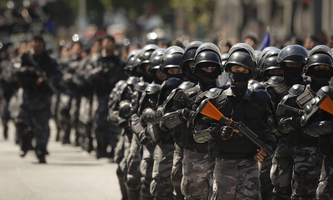 Militares: reforma e reestruturação. Foto: Pablo Jacob / Agência O Globo