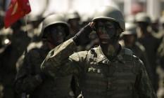 Militares: aumento de benefícios para praças. Foto: Pablo Jacob / Agência O Globo