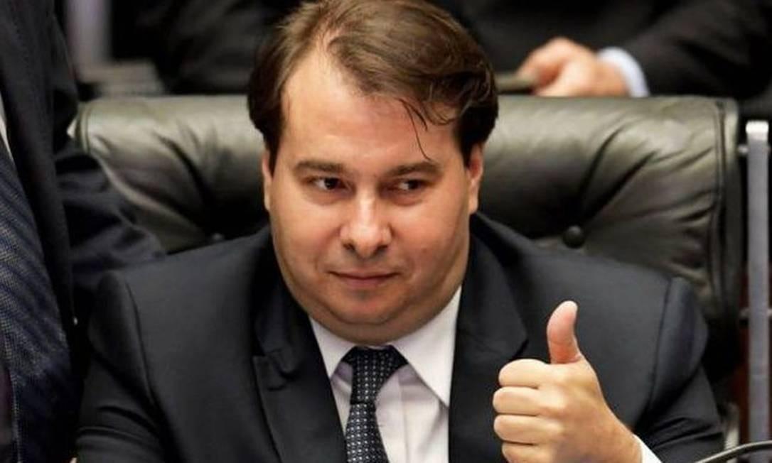 Rodrigo Maia, presidente da Câmara Foto: Divulgação