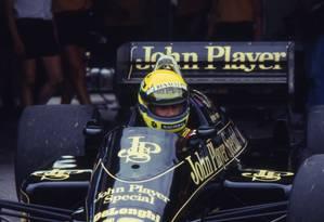Lenda do automobilismo, Ayrton Senna completaria 59 anos hoje Foto: Agência O Globo