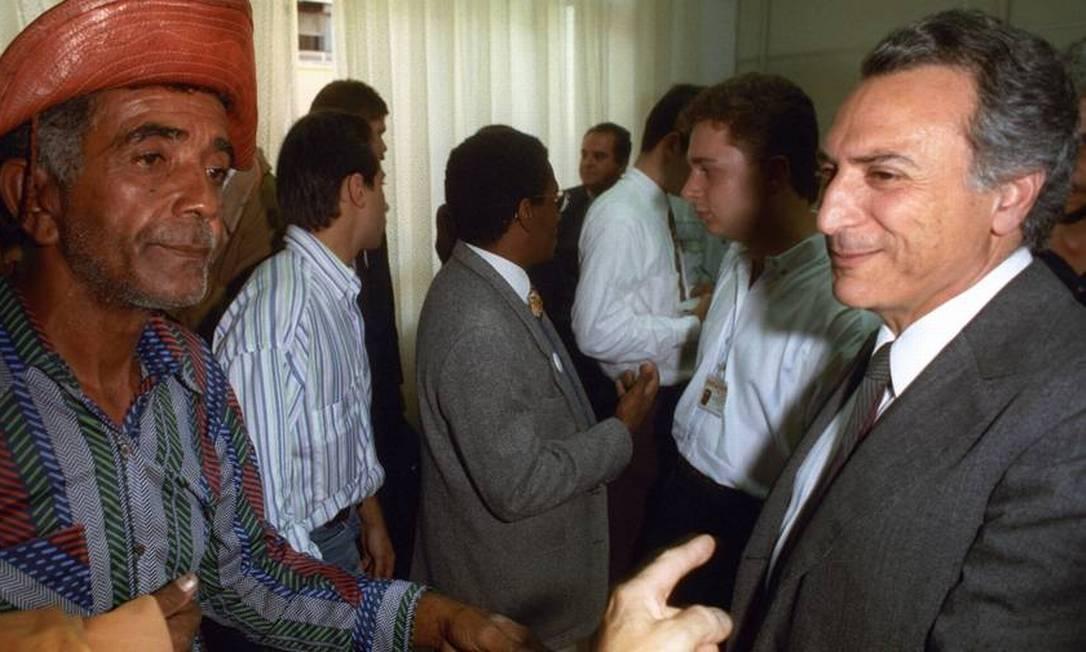 Em 1993, assume novamente a Secretária de Segurança Pública de São Paulo, após se licenciar do mandato de deputado federal para administrar o caos causado pelo Massacre de Carandiru, quando a Polícia Militar paulista matou 111 presos na penitenciária. Foto: Claudio Rossi / Agência O Globo