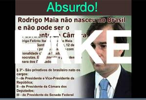 O parlamentar foi registrado no Consulado e tem nacionalidade brasileira Foto: Reprodução
