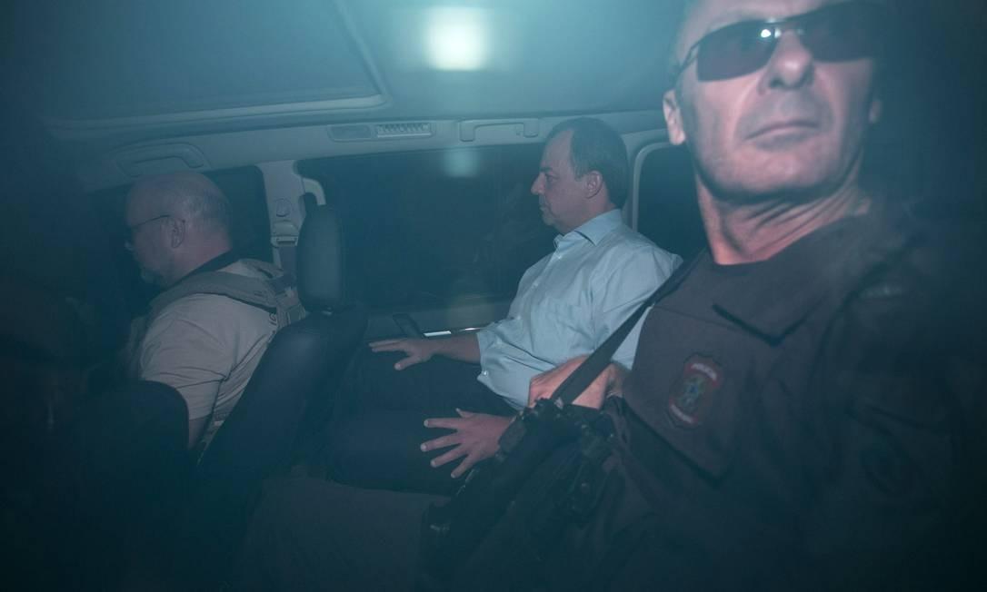 Ex-governador Sergio Cabral está detido em Bangu 8, após ser condenado a 200 anos de reclusão por envolvimento em casos de corrupção Foto: Guito Moreto / Agência O Globo