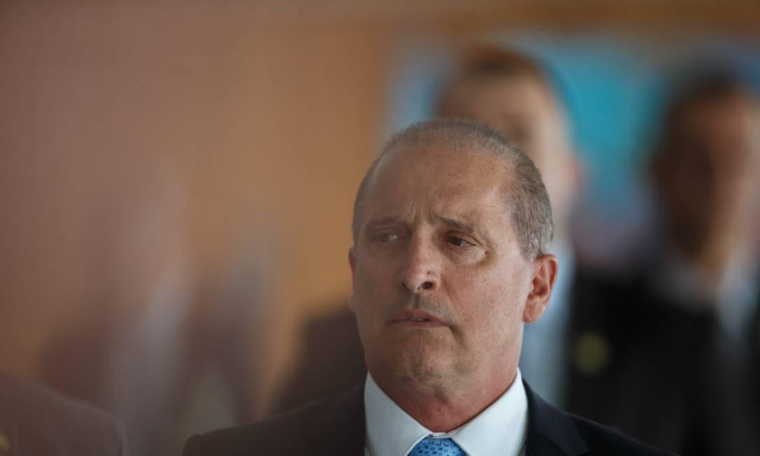 Onyx: declarações geraram reação de políticos chilenos. Foto: Daniel Marenco / Agência O Globo