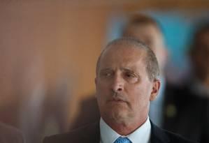 O ministro da Casa Civil, Onyx Lorenzoni, defende diálogo com as legendas Foto: Daniel Marenco / Agência O Globo