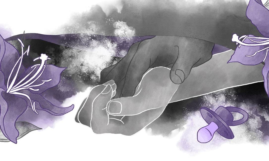 Retomada da atividade sexual deve ser feita aos poucos, com tempo para o casal se redescobrir Foto: Ilustração Lari Arantes