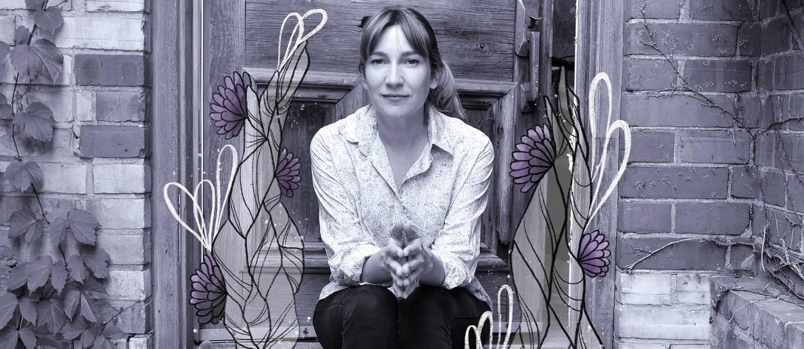 Sheila Heti, escritora canadense Foto: Arte sobre foto de Divulgação