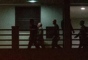 Ex-presidente Michel Temer na superintendência da Polícia Federal no Rio Foto: Antonio Scorza / Agência O Globo