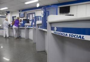 Previdência: estados querem isenção de PIS/Pasep. Foto: Márcia Foletto / Agência O Globo