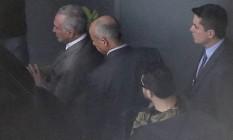 Michel Temer foi preso na manhã desta quinta-feira Foto: Edilson Dantas / Agência O Globo