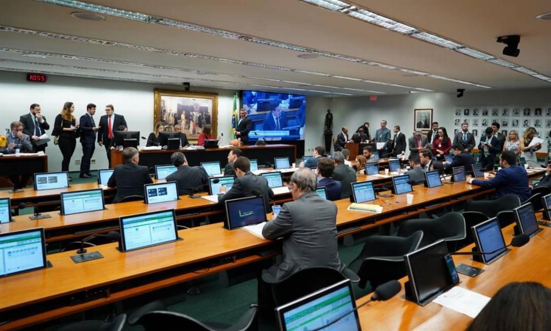 Comissão de Constituição e Justiça da Câmara dos Deputados (CCJ) Foto: Jorge William / Agência O Globo