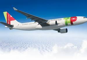 Aeronave da TAP: planos para o Brasil. Foto: Divulgação
