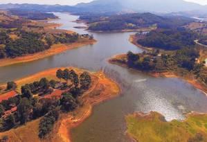 O rio Jacareí, em São Paulo, é um dos impactados pelo projeto Coalizão Foto: Luis Moura