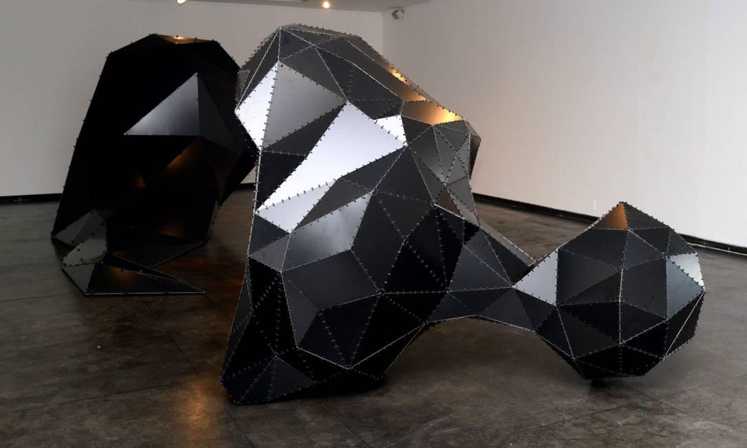 SC - Exposição Decompor, de Angelo Venosa, na galeria Candido Portinari Foto: Divulgação/George Magaraia