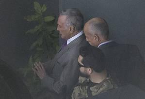 O ex-presidente Michel Temer foi preso pela Operação Lava-Jato Foto: Edilson Dantas / Agência O Globo