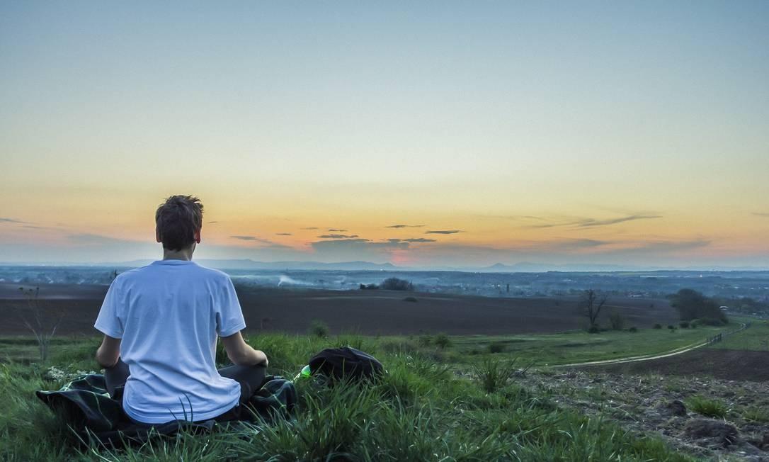 Meditação Foto: Brenkee / Pixabay / Reprodução