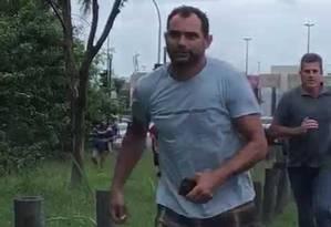 Arrastão na Barra provoca correria de pedestres e motoristas Foto: Reprodução