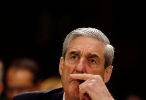 Procurador especial Robert Mueller, durante audiência no Senado, em 2013 Foto: Larry Downing / REUTERS