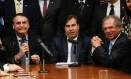 Segundo Teixeira, ligar articulação à corrupção pode levar ao fracasso da reforma da Previdência Foto: CAROLINA ANTUNES / AFP