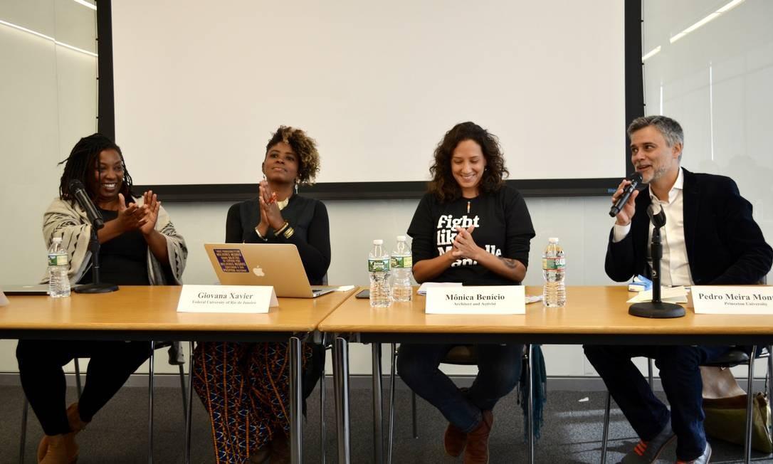 Evento aconteceu na Universidade de Princeton, uma das mais prestigiosas dos Estados Unidos Foto: Daiane Tamanaha / Reprodução