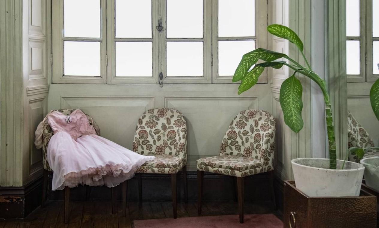 Por seis meses, a fotógrafa Ana Branco fez uma série de visitas para registrar detalhes dos bastidores do Teatro Municipal. Foto: Ana Branco / Agência O Globo