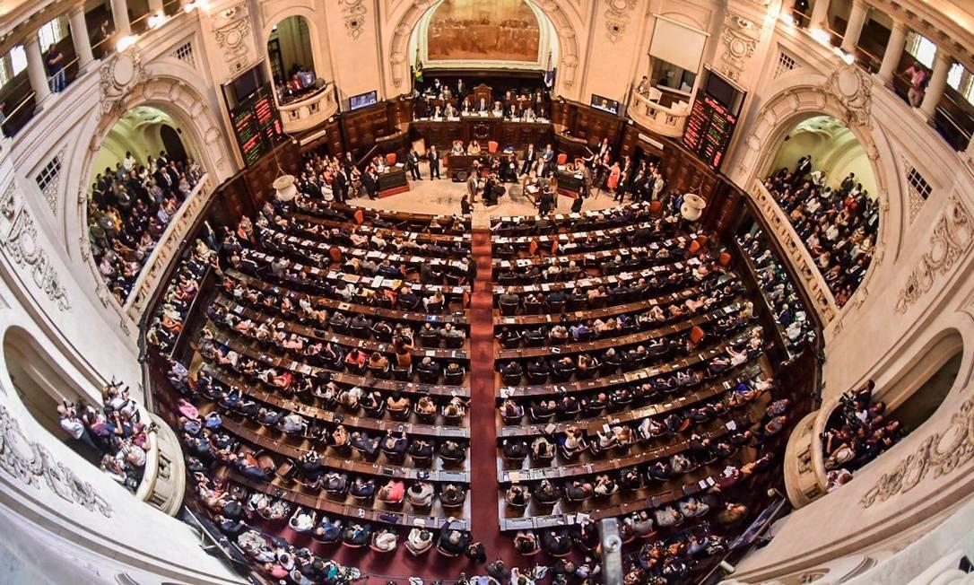 Assembleia Legislativa do Rio Foto: Júlia Passos / Agência O Globo