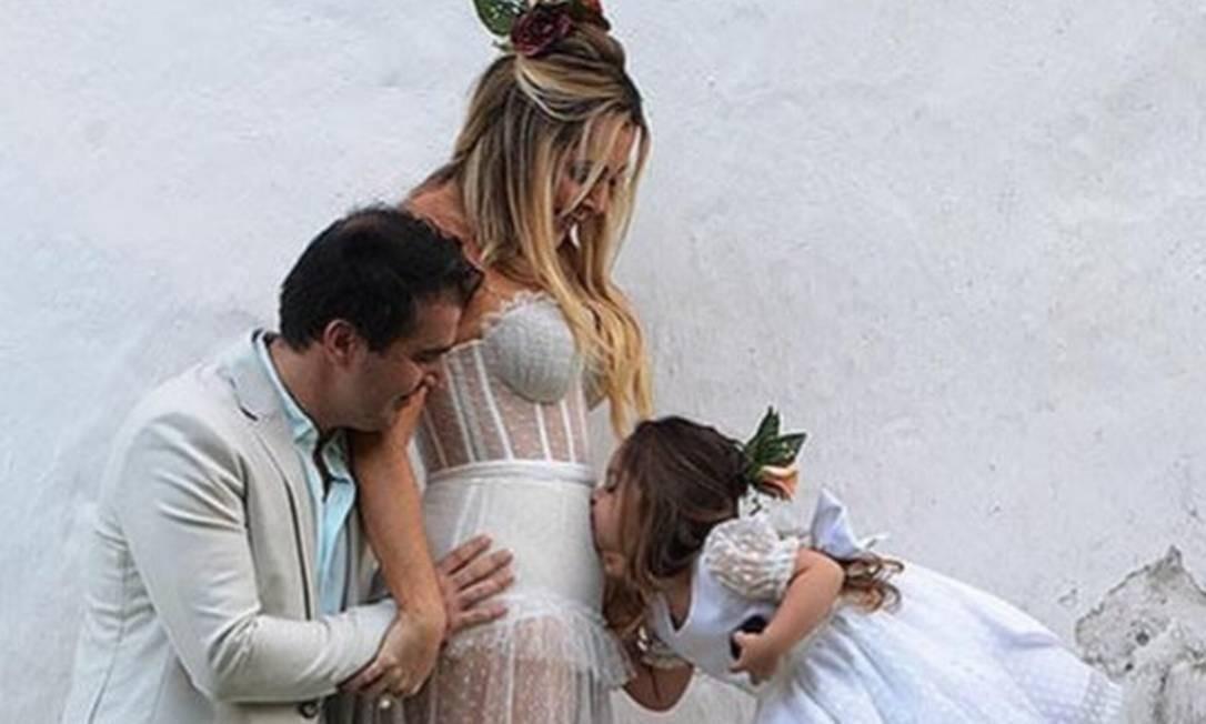 O empresário tinha uma filha de 3 anos e a viúva está grávida. Foto: Reprodução/Instagram